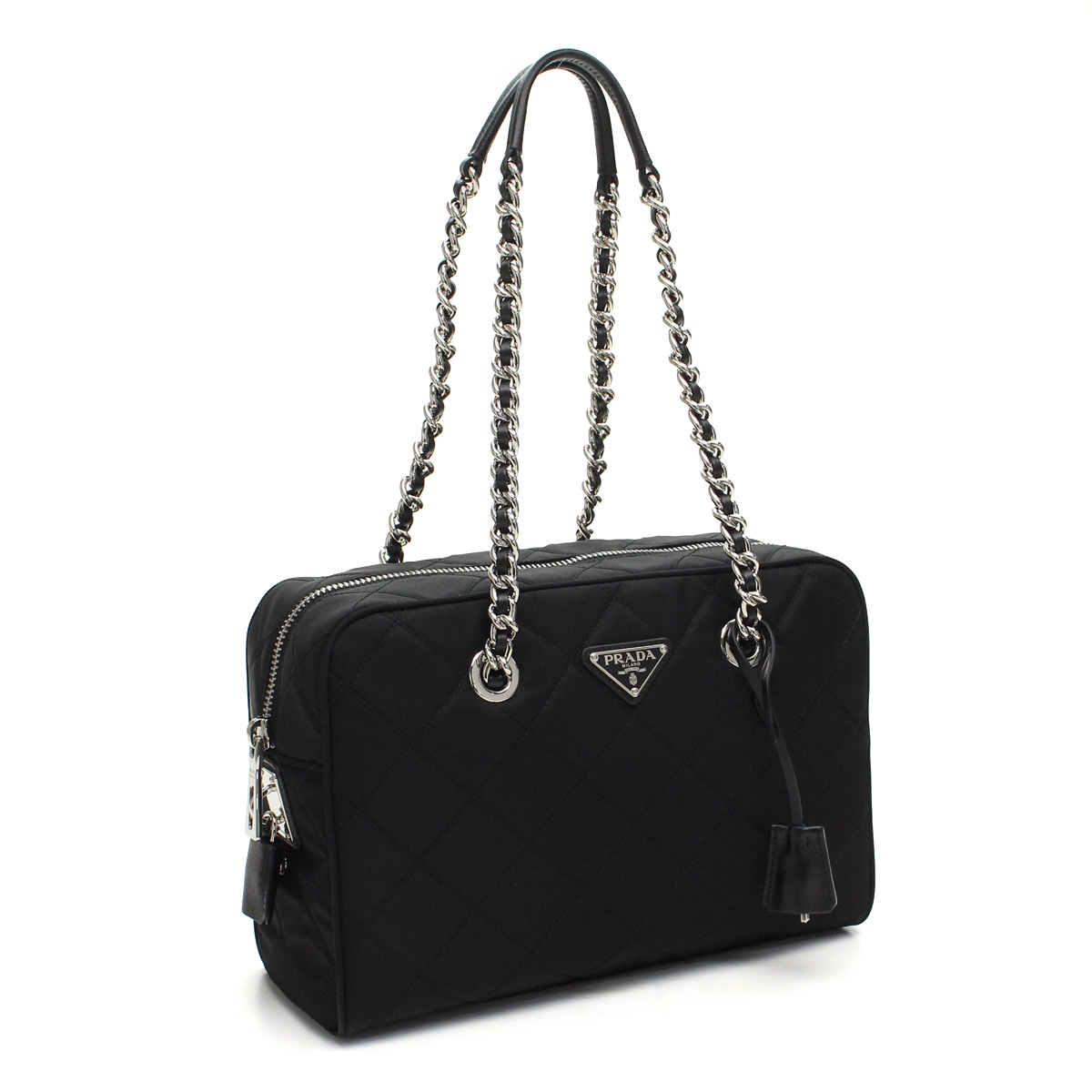 d654d58abc16 Bighit The total brand wholesale: Prada outlet PRADA (OUTLET) Boston  1BB903-O-2AS3-F0002 NERO black( taxfree/send by EMS/authentic/A brand new  item ) ...