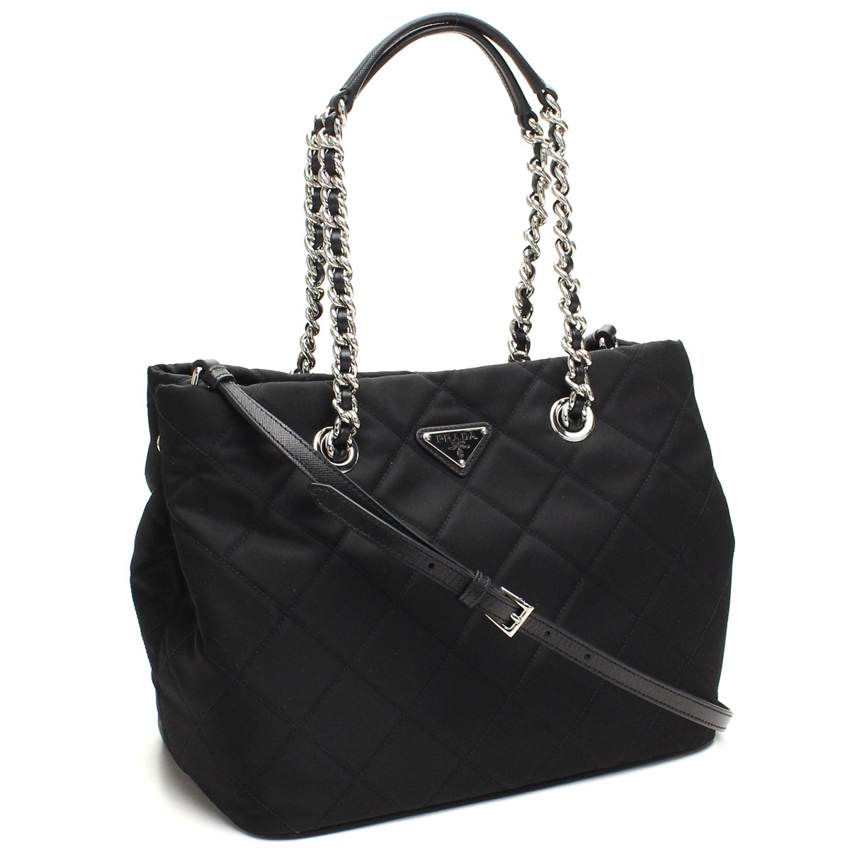 4a4fa5b4b527 Bighit The total brand wholesale  Prada outlet PRADA (OUTLET) tote bag  1BG740-O-2AS3-F0002 NERO black( taxfree send by EMS authentic A brand new  item ) ...