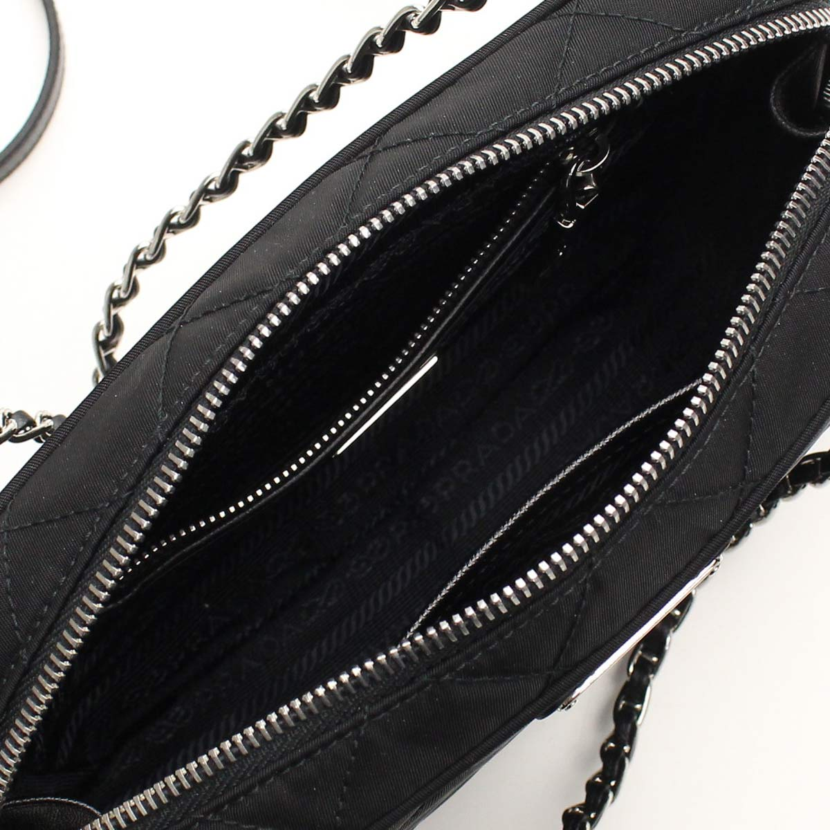 1BH910-O-2AS3-F0002 NERO black Prada outlet PRADA (OUTLET)( taxfree/send by EMS/authentic/A brand new item )