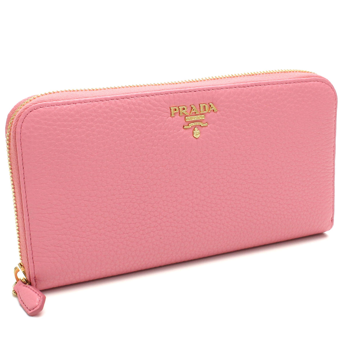 5274dfeded55 Bighit The total brand wholesale: Prada outlet PRADA (OUTLET) wallet large  zip around 1ML506-O-2E3A-F0638 BEGONIA pink( taxfree/send by EMS/authentic/A  ...