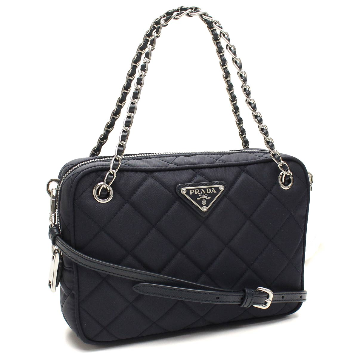 0bf0c6c054be Bighit The total brand wholesale: Prada outlet PRADA (OUTLET) handbag  bl0910-yo-2as3-f0008 BLEU Navy( taxfree/send by EMS/authentic/A brand new  item ) ...