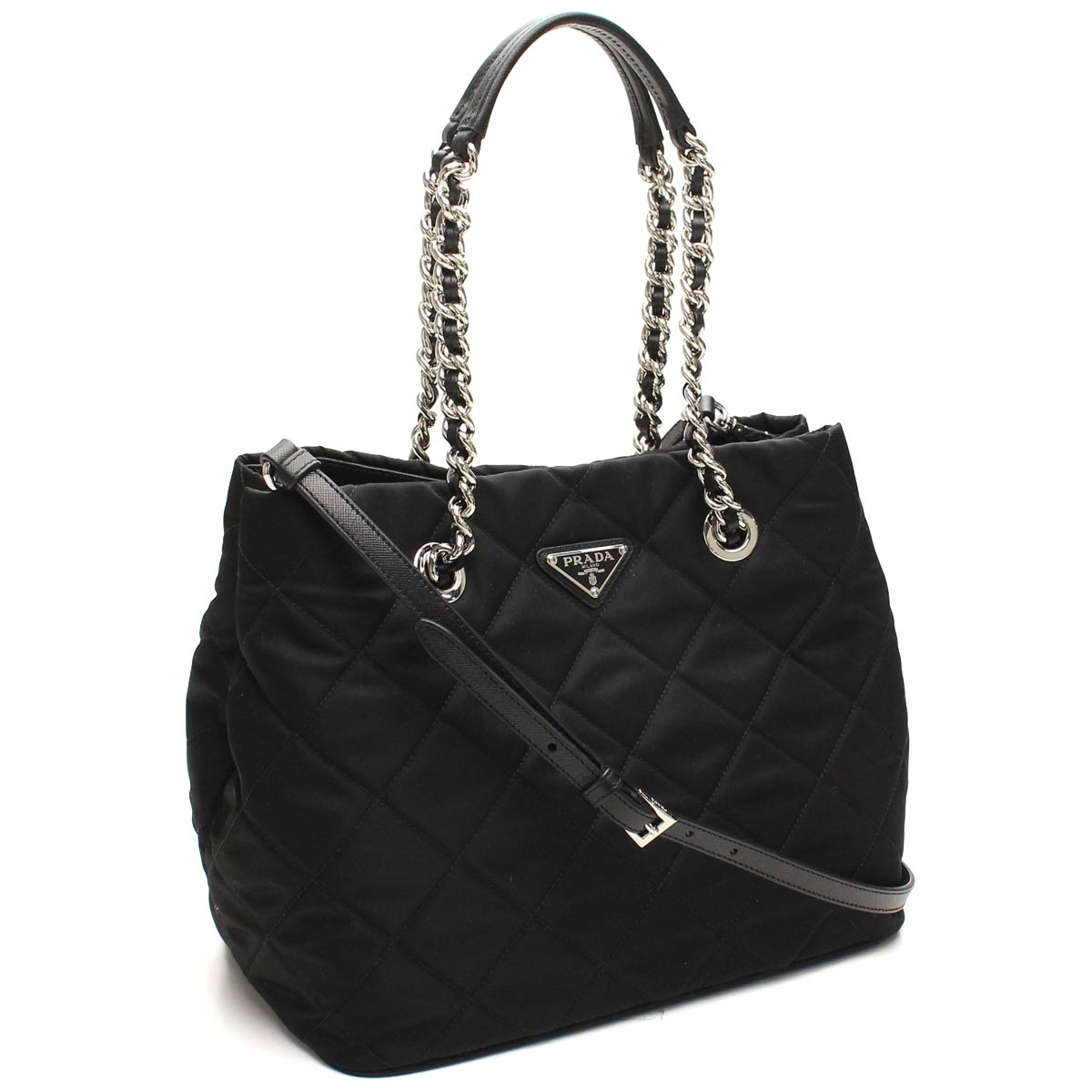 Bighit The total brand wholesale  Prada outlet PRADA (OUTLET) tote bag  BN2740-O-2AS3-F0002 NERO black( taxfree send by EMS authentic A brand new  item ) ... 4ccfa967dbb04