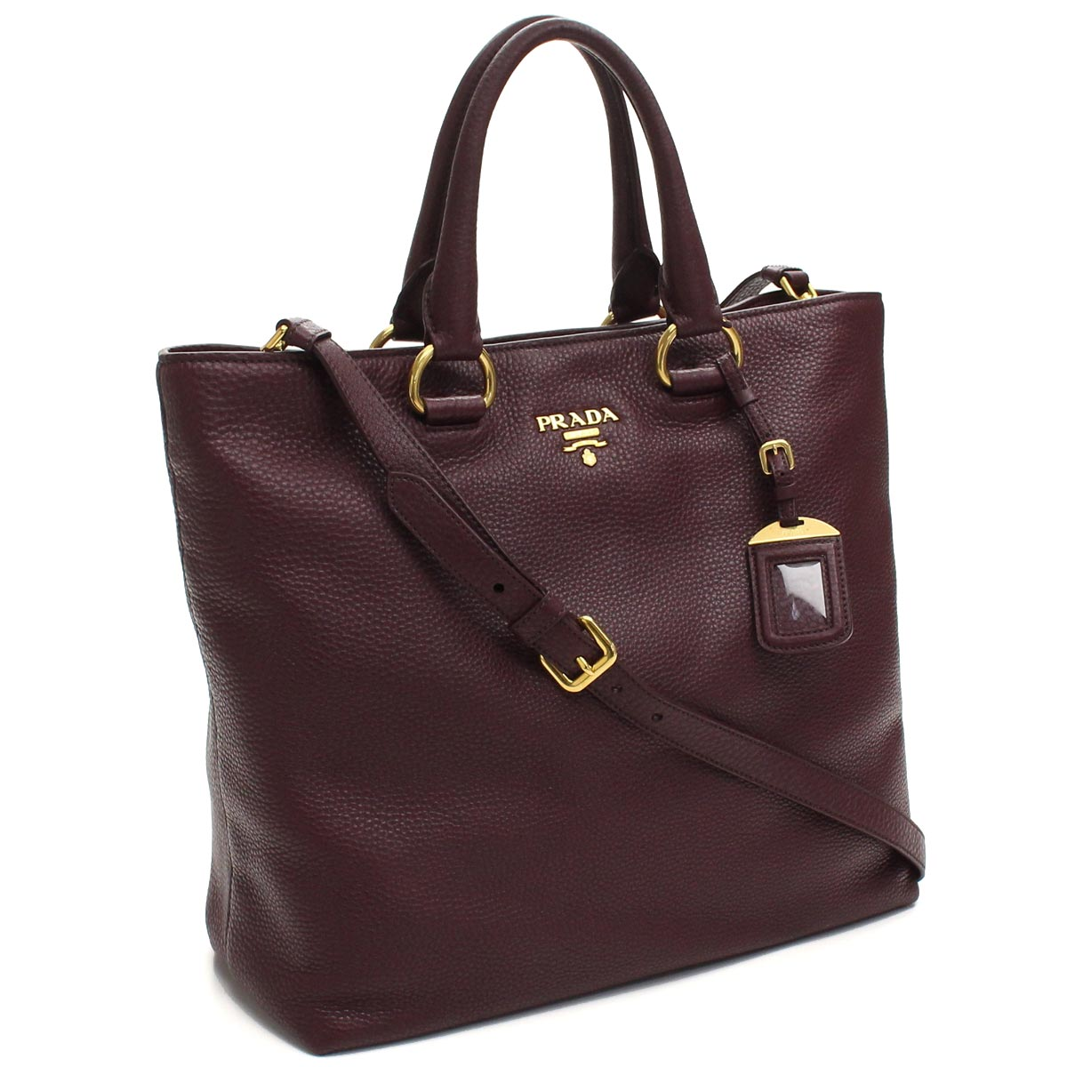 266c8f310b5f Bighit The total brand wholesale  Prada outlet PRADA (OUTLET) tote bag  BN2865-O-UWL-F0403 GRANATO Bordeaux( taxfree send by EMS authentic A brand  new item ) ...