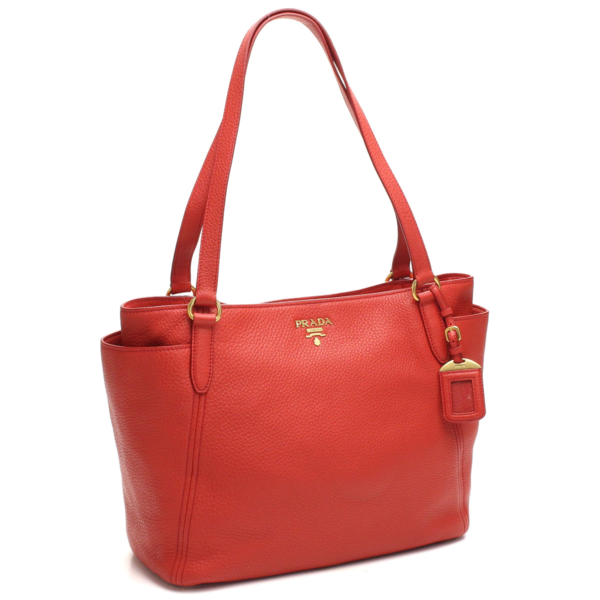 7512dffdd05a Bighit The total brand wholesale  Prada outlet PRADA (OUTLET) tote bag  BR4970-O-UWL-F0011 ROSSO red series( taxfree send by EMS authentic A brand  new item ) ...