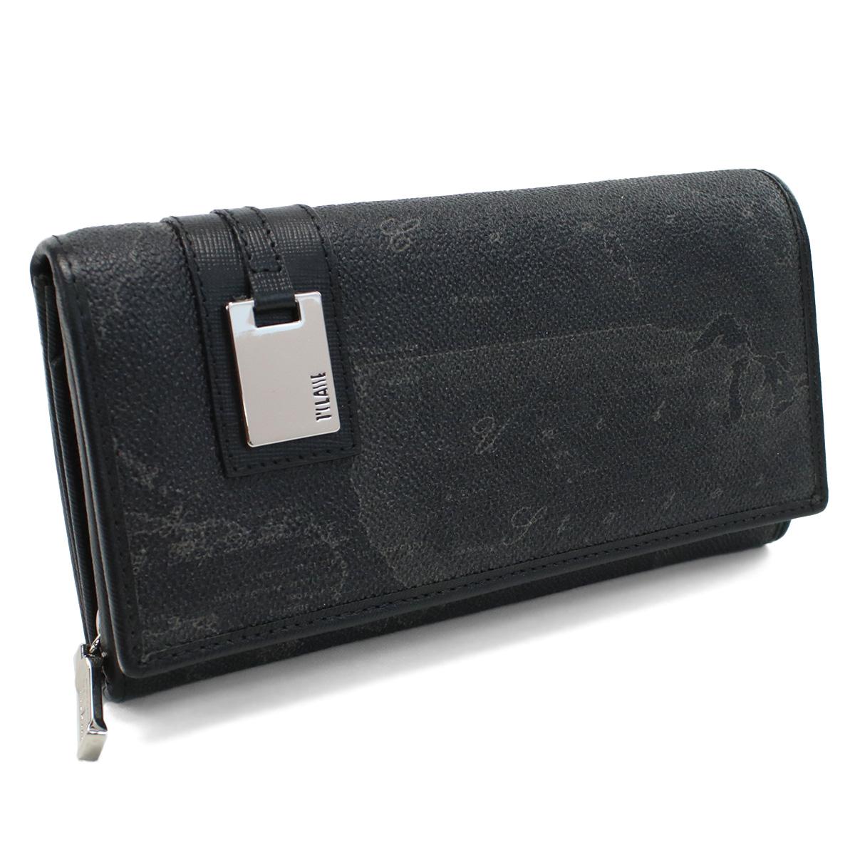 プリマクラッセ PRIMA CLASSE large Wallet 2つ折り長財布 W026 6426 BLACK ブラック 【レディース】