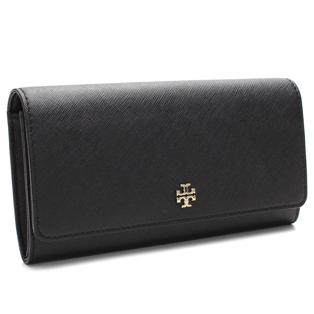 4de5439fa7d6 Bighit The total brand wholesale  Tory Burch (TORY BURCH) ROBINSON ENVELOPE  CONTINENTAL wallet two fold rubx 11169072-001 BLACK black wallet(  taxfree send ...