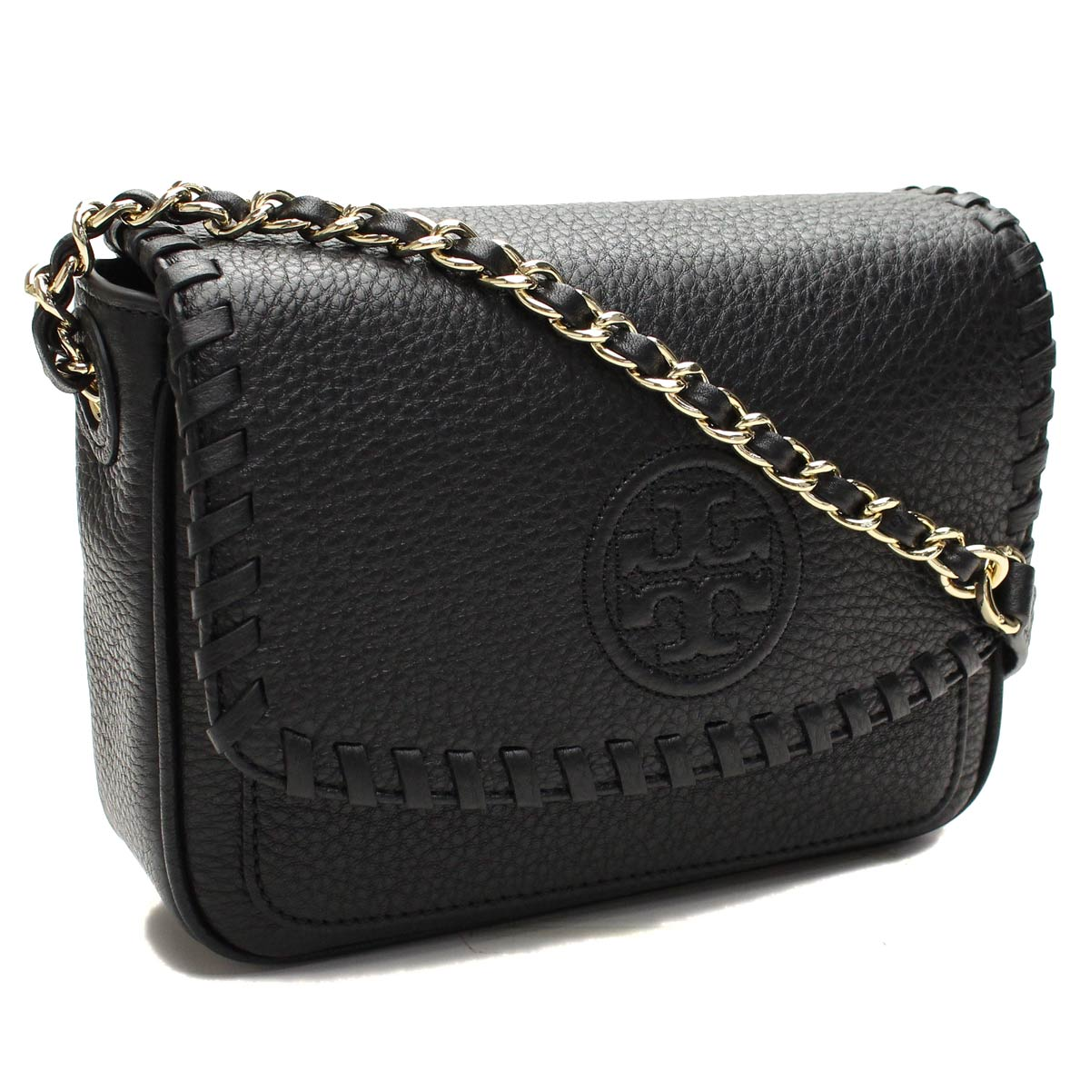 d7c02d42b27d Bighit The total brand wholesale  Tory Burch (TORY BURCH) MARION diagonally  over the shoulder bag PEBBLE LEATHER formal black-001 BLACK( taxfree send  by ...