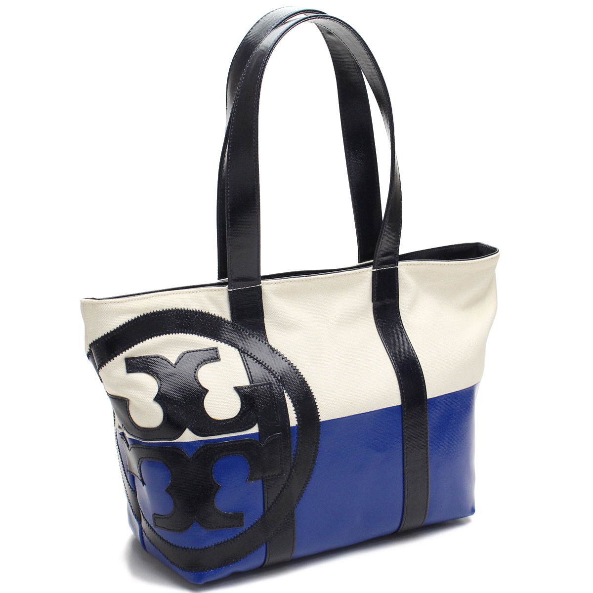 43dd8d3df Bighit The total brand wholesale: Tory Burch (TORY BURCH) tote bag 21159620  291 NATURAL/TELLY BLUE/T blue series white( taxfree/send by EMS/authentic/A  ...
