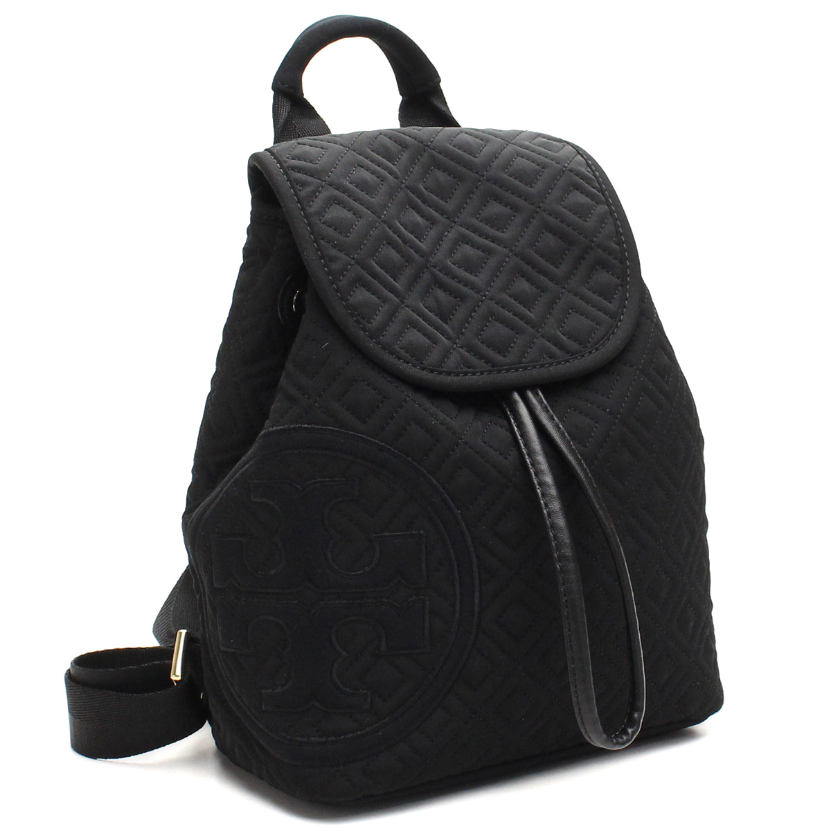306c2d77fe1 Bighit The total brand wholesale  Tory Burch (TORY BURCH) PENN QUILTED  backpack 41159566-001 BLACK black( taxfree send by EMS authentic A brand  new item ) ...