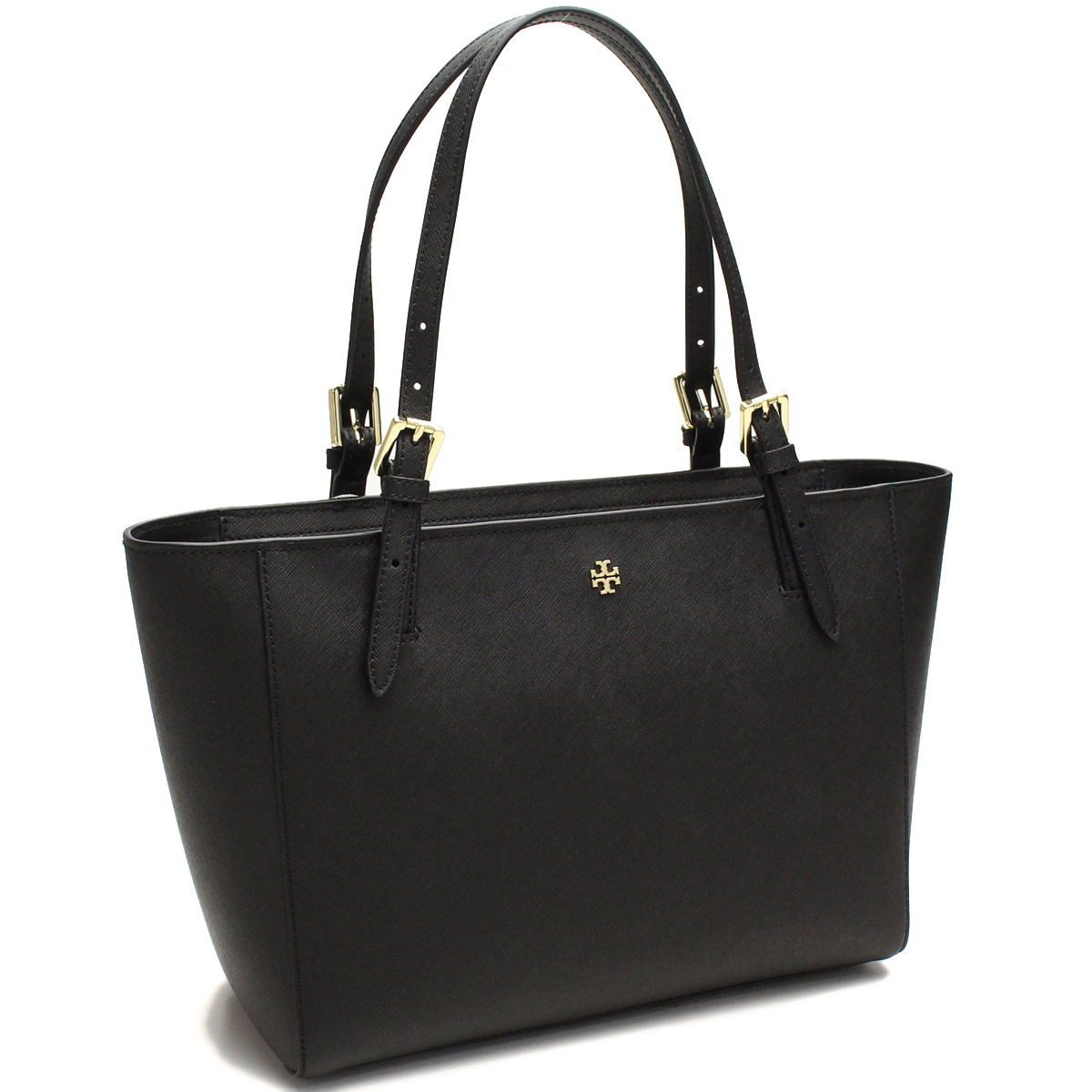 df5d1f8dd1c Bighit The total brand wholesale  Tory Burch (TORY BURCH) YORK SMALL TOP  ZIP BUCKLE TOTE tote bag 31159781-001 BLACK black( taxfree send by  EMS authentic A ...