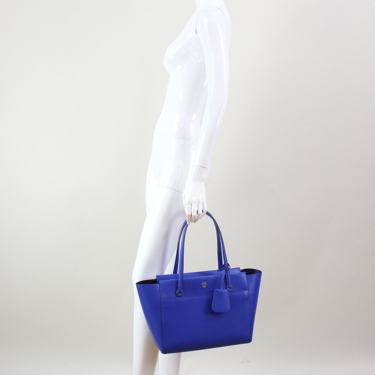 91ef60eb260 ... Tolly Birch (TORY BURCH) PARKER parka tote bag 37744 449 SONGBIRD blue  system