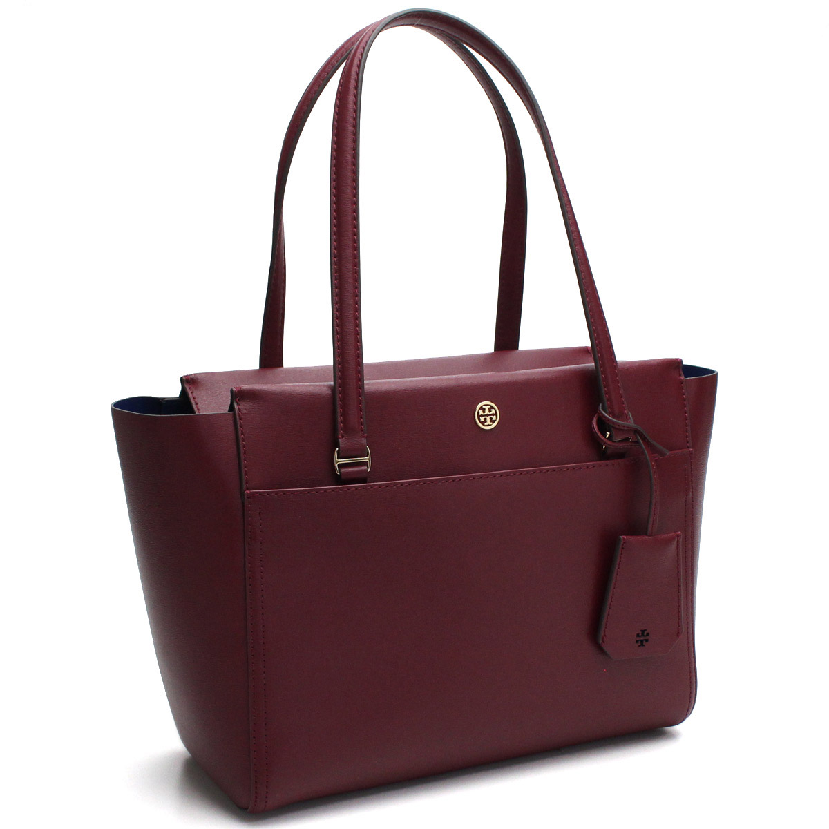 7154b9aaa13 Bighit The total brand wholesale  Tolly Birch (TORY BURCH) PARKER parka Small  tote bag 37744 639 IMPERIAL GARNET MID Bordeaux system