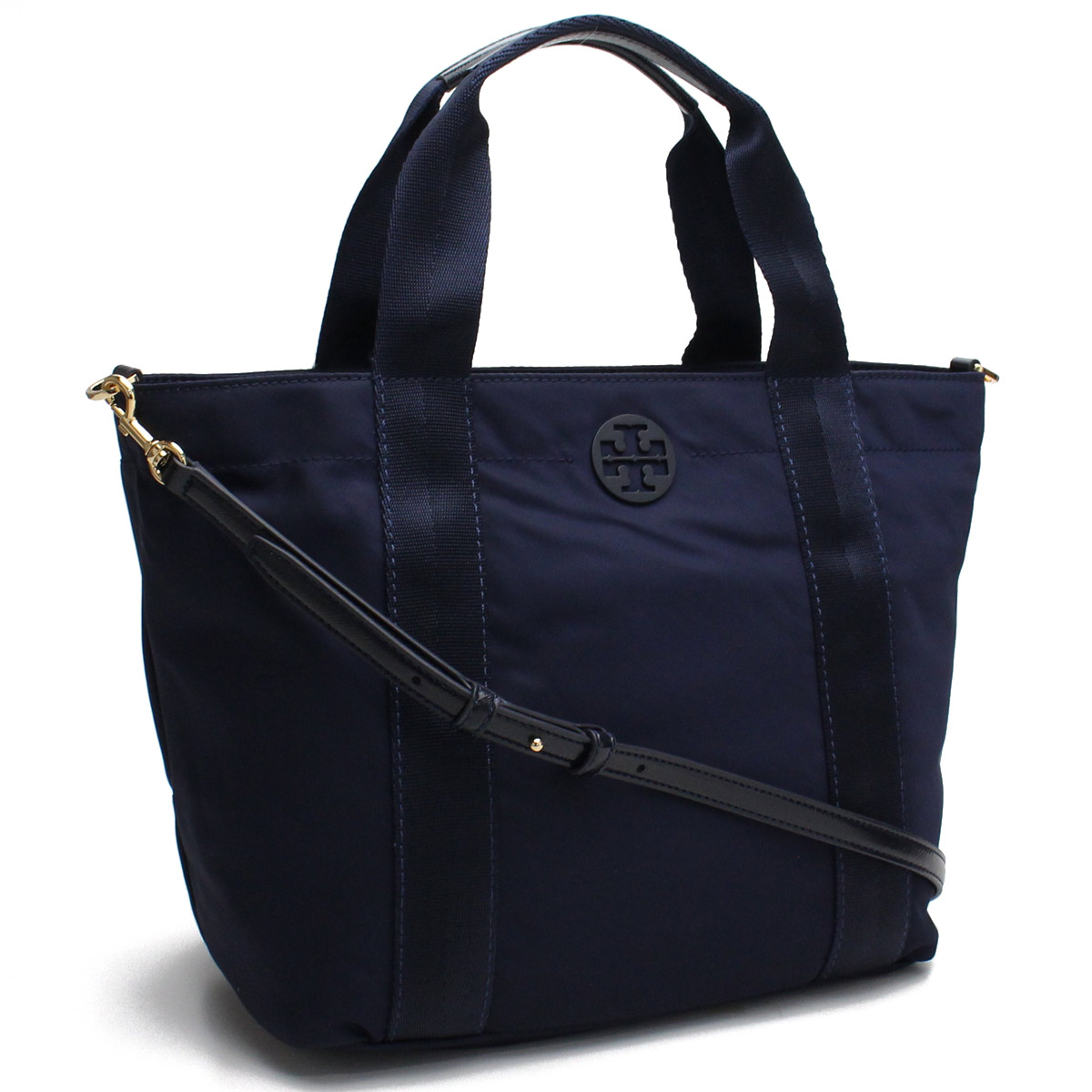 7fa0b4d1e Bighit The total brand wholesale: Tolly Birch TORY BURCH bag QUINN Quinn  Small nylon tote bag 41762 405 TORY NAVY navy system | Rakuten Global Market