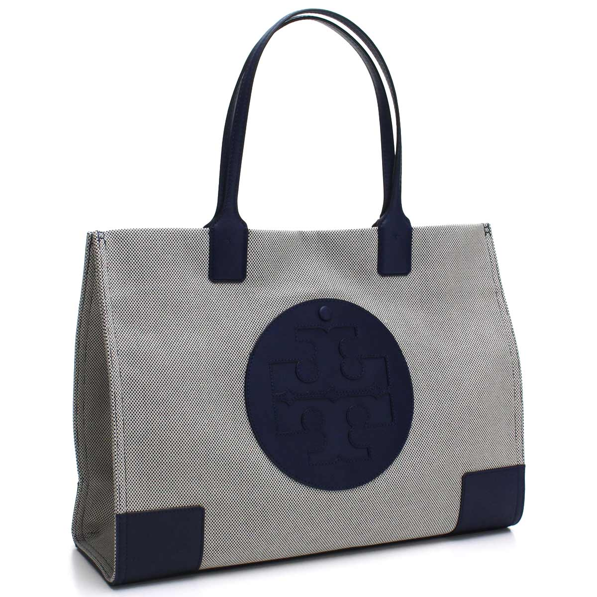 336f1dc56 Bighit The total brand wholesale: Tolly Birch TORY BURCH ELLA CANVAS gills  canvas tote bag 45209 410 NAVY navy system | Rakuten Global Market