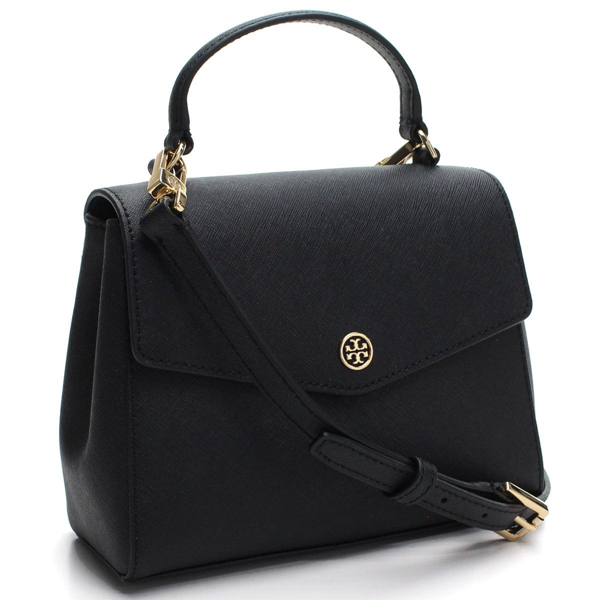 Hit The Total Brand Whole Tolly Birch Tory Burch Robinson Handbag 49686 001 Black Rakuten Global Market