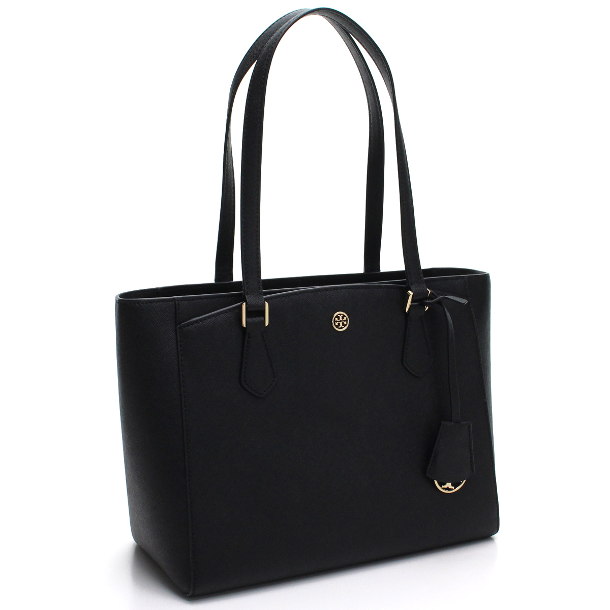 c26f4e947 Bighit The total brand wholesale: Tolly Birch TORY BURCH ROBINSON Robinson  Small tote bag 54146 001 BLACK black | Rakuten Global Market
