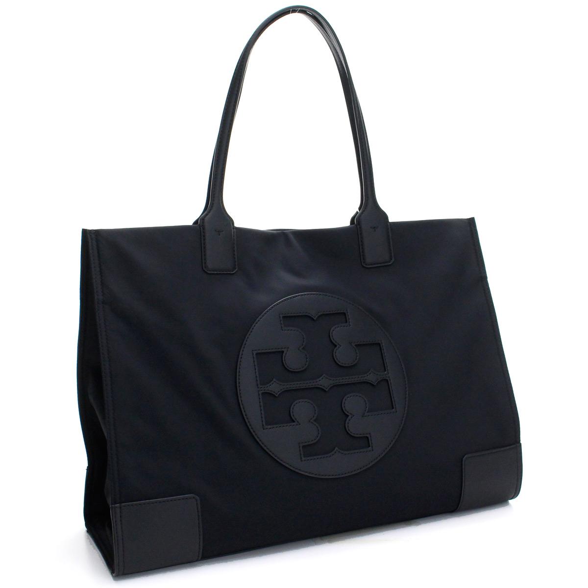 トリーバーチ TORY BURCH バッグ ELLA エラ トートバッグ 55228 001 BLACK ブラック レディース【キャッシュレス 5% 還元】gsw-1