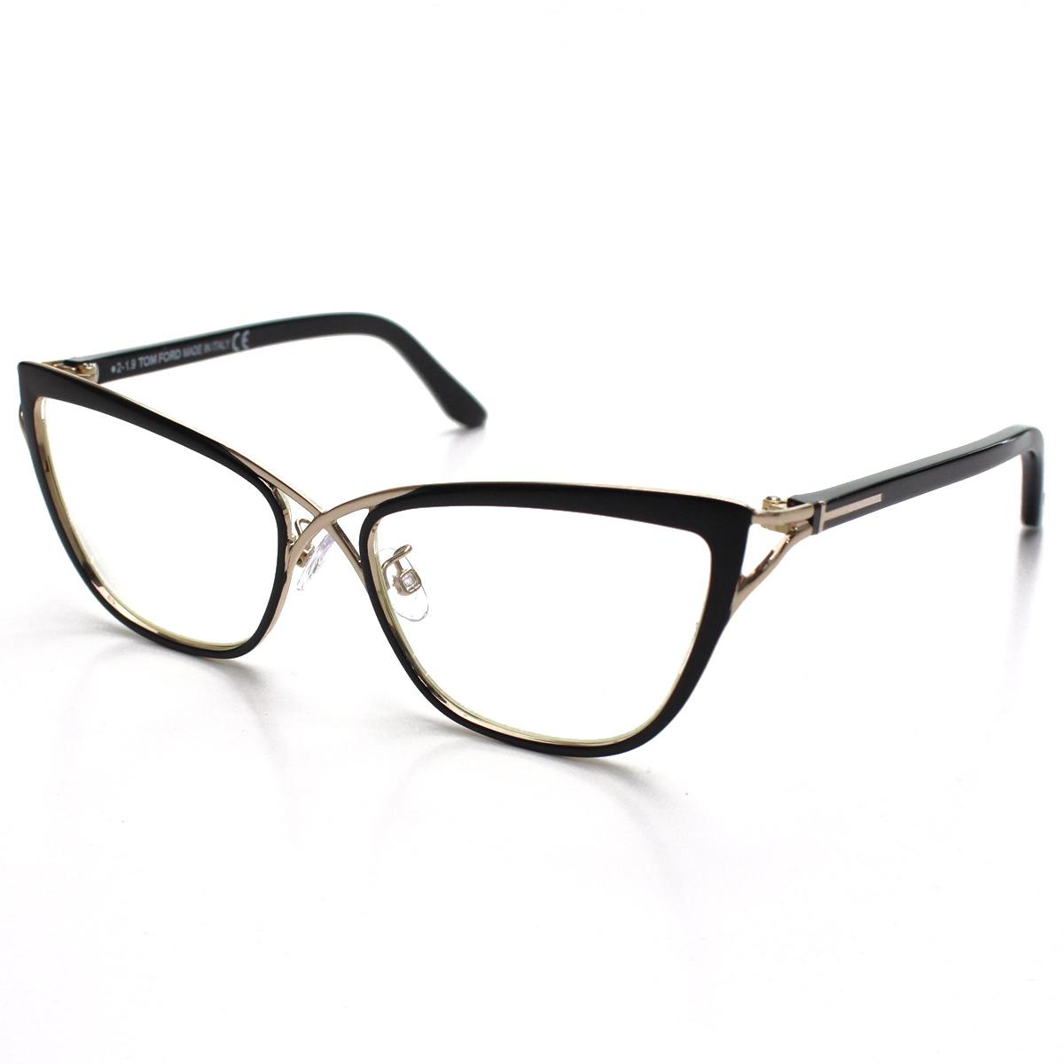 トム フォード TOM FORD バタフライ型 ダテ眼鏡 メガネフレーム TF5272 005 メンズ レディース