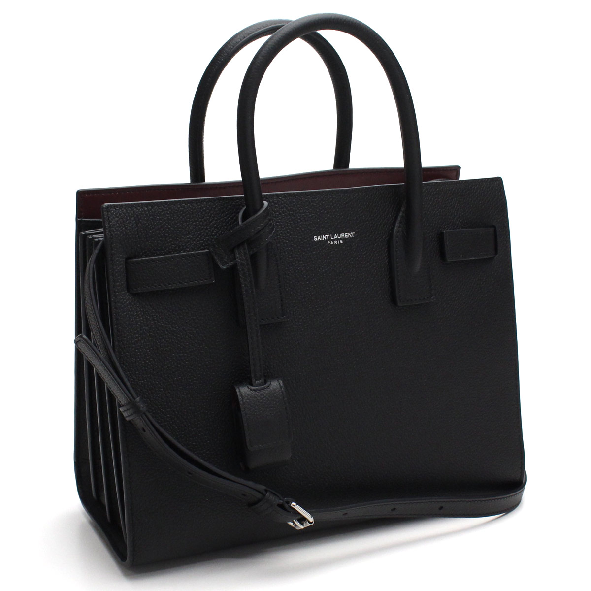 e00ebe115f Bighit The total brand wholesale: Saint-Laurent (SAINT LAURENT) SAC DE JOUR  2WAY tote bag 421863 B681N 1091 black   Rakuten Global Market