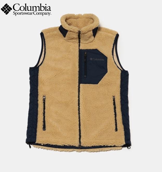 Columbia (コロンビア) PM3744 (メンズ) アーチャーリッジベスト/Archer Ridge Vest/フリースベスト/2019-2020FW