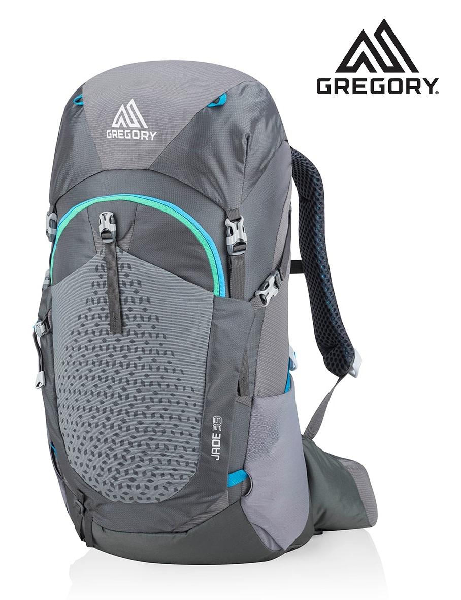 GREGORY (グレゴリー) レディース ジェイド33/JADE33/エーテルグレー/ザック/バックパック/登山/アウトドア