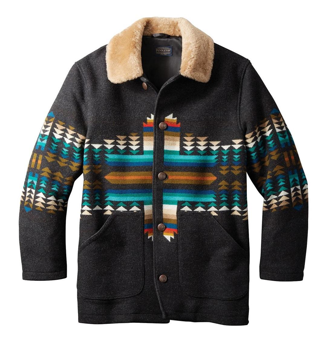 PENDLETON (ペンドルトン) Pendleton Brownsville Shearling Collar Coat/ブラウンズビル シャーリング カラーコート/メンズ