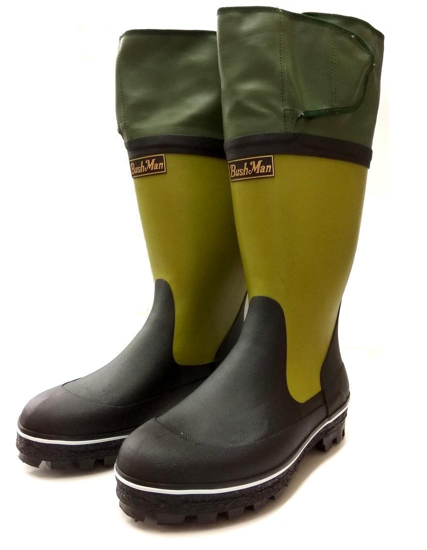 BushMan (ブッシュマン) スパイク付ブーツ ネオ・エスキモー/ノンスリップ底/ハンティングブーツ/狩猟用防寒ブーツ/石井銃砲