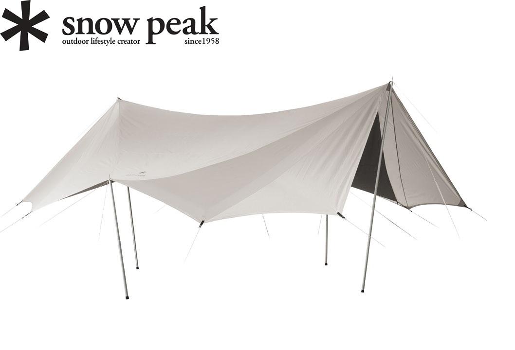 Snow Peak (スノーピーク) TP-430 TAKIBIタープ オクタ/タキビタープ/キャンプ/アウトドア/焚き火/mcsts