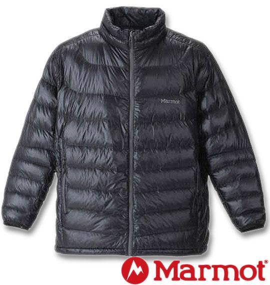 大きいサイズ メンズ Marmot(マーモット) 1000Easeダウンジャケット ブラック 3L 4L 5L 6L 送料無料【コンビニ受取対応商品】