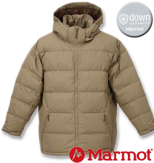 [取り寄せ]大きいサイズ メンズ Marmot(マーモット) ダウンジャケット ベージュ 3L 4L 5L 6L 送料無料