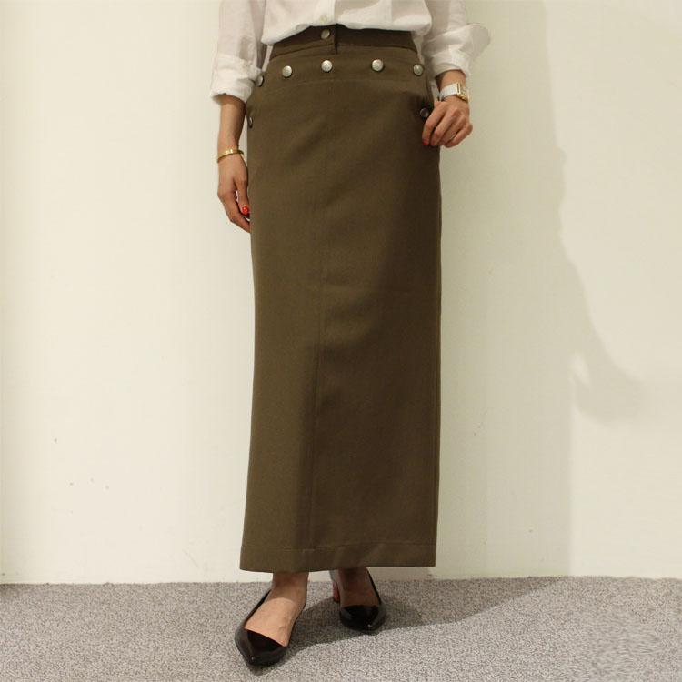 正規品 Cellar Door(セラードアー)ALICE ボタン ロングスカート