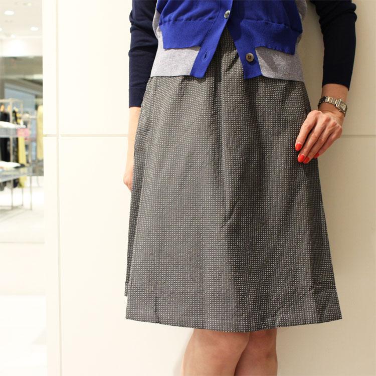 正規品 Cellar Door(セラードアー)ADRIANA シアサッカー アシンメトリースカート
