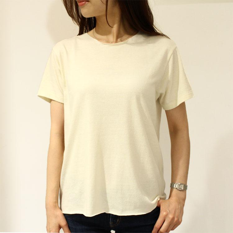 正規品 Sandrine Rose(サンドリン ローズ)SR16185 クルーネック 刺繍カットソー【OUTLET】
