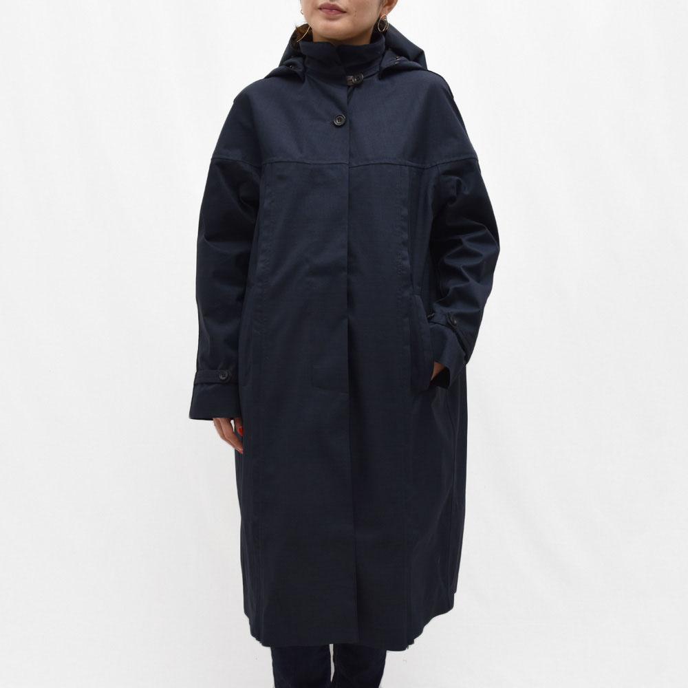 正規品 Norwegian Rain(ノルウィージャンレイン)PRAGUE リサイクルポリエステルフーデッドコート レディース