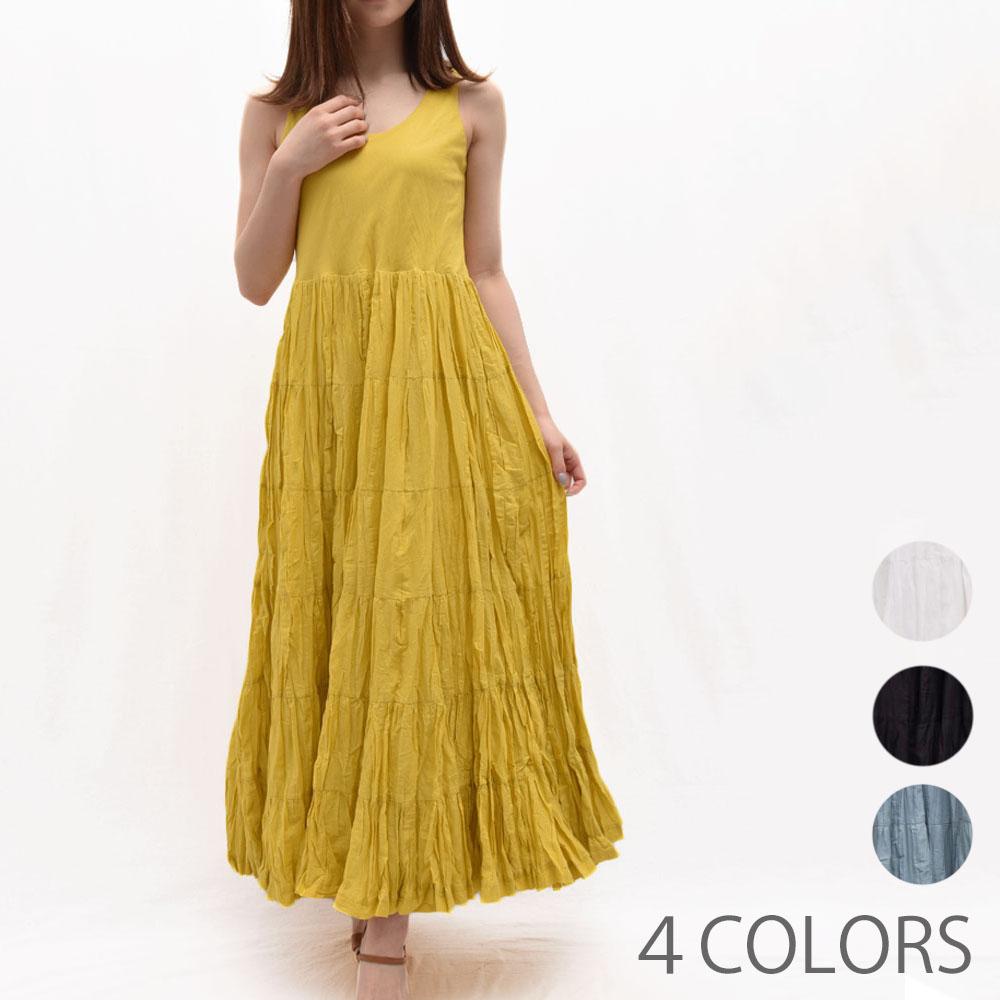 正規品 MARIHA(マリハ)861392002 草原の虹のドレス ノースリーブワンピース レディース