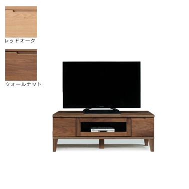 TVボード 幅120cm OK-DGL ウォールナット レッドオーク TV台 テレビ台 AVボード ダークブラウン ナチュラル 国産 日本製 新生活 送料無料