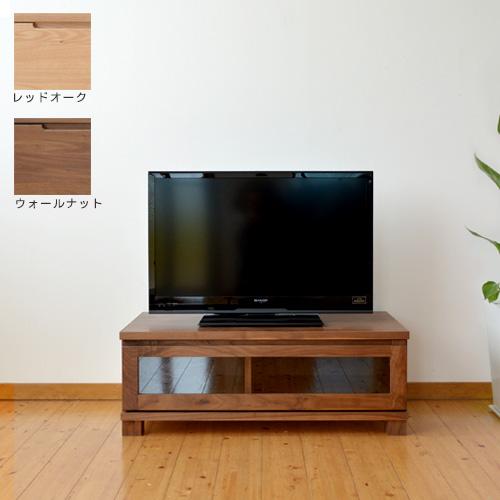TVボード 幅90cm OK-DGL ウォールナット レッドオーク TV台 テレビ台 AVボード ダークブラウン ナチュラル 国産 日本製 新生活 送料無料