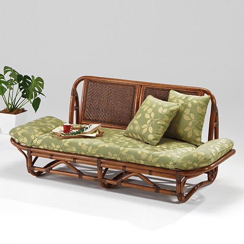 ラタン カウチ ニューエルモサ〈AB〉 02-0740-88 カザマ 02-0740-88 アンティークブラウン 2人掛け 2P カウチソファ 2人掛け カザマ クッション付き 籐椅子 New Hermosa, ヒガシチクマグン:8a8766d8 --- finfoundation.org
