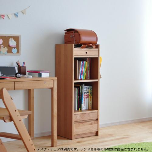 ランドセルラック LGY Plus 天然木アルダー材 ランドセル収納 完成品 日本製 リビング学習 杉工場 シンプル 国産 【送料無料】