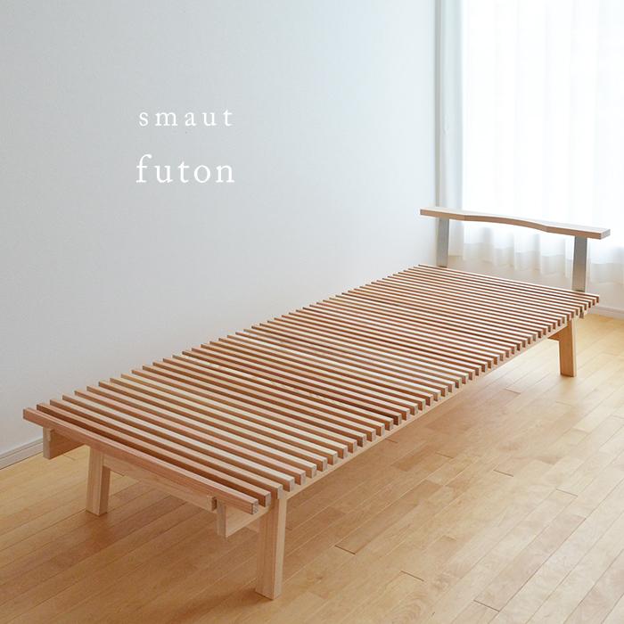 すまうと ベッド futon シングルサイズ天然素材 低温乾燥 杉 桧 無垢材 杉 ひのき 国産材 無垢材 Sサイズ 日本製 低温乾燥, 横浜市:0cf42bfd --- finfoundation.org