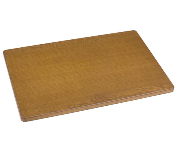 こたつ 天板 のみ 105×75cm 片面 洋風 長方形 105cm こたつ用 ナラ突板 ブラウン色 コタツ天板 こたつ板 送料無料