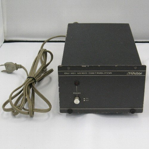 Victor 中古 ビデオ分配増幅器 公式ショップ ビクター 卓抜 DV-101