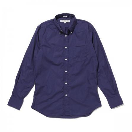 ★INDIVIDUALIZED SHIRTS (インディビジュアライズドシャツ)★Poplin MENS / Standard FitボタンダウンシャツNavy/A81NBO-H