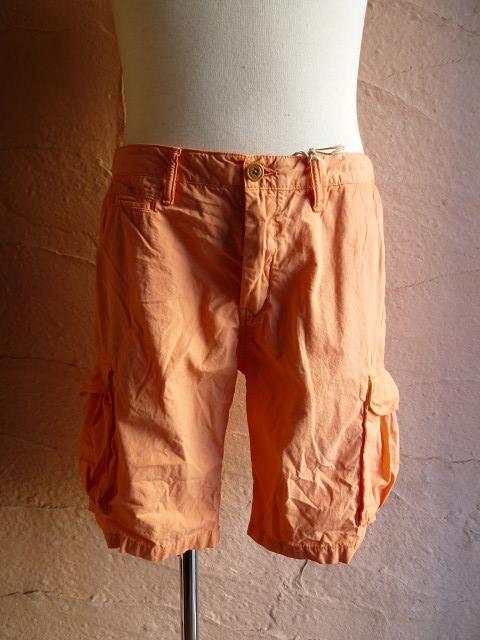 SCOTCH SODAスコッチアンドソーダ Herren Shorts Basic poplin cargo SC81120 41カーゴポプリンショートパンツORANGE 18hQrtsd