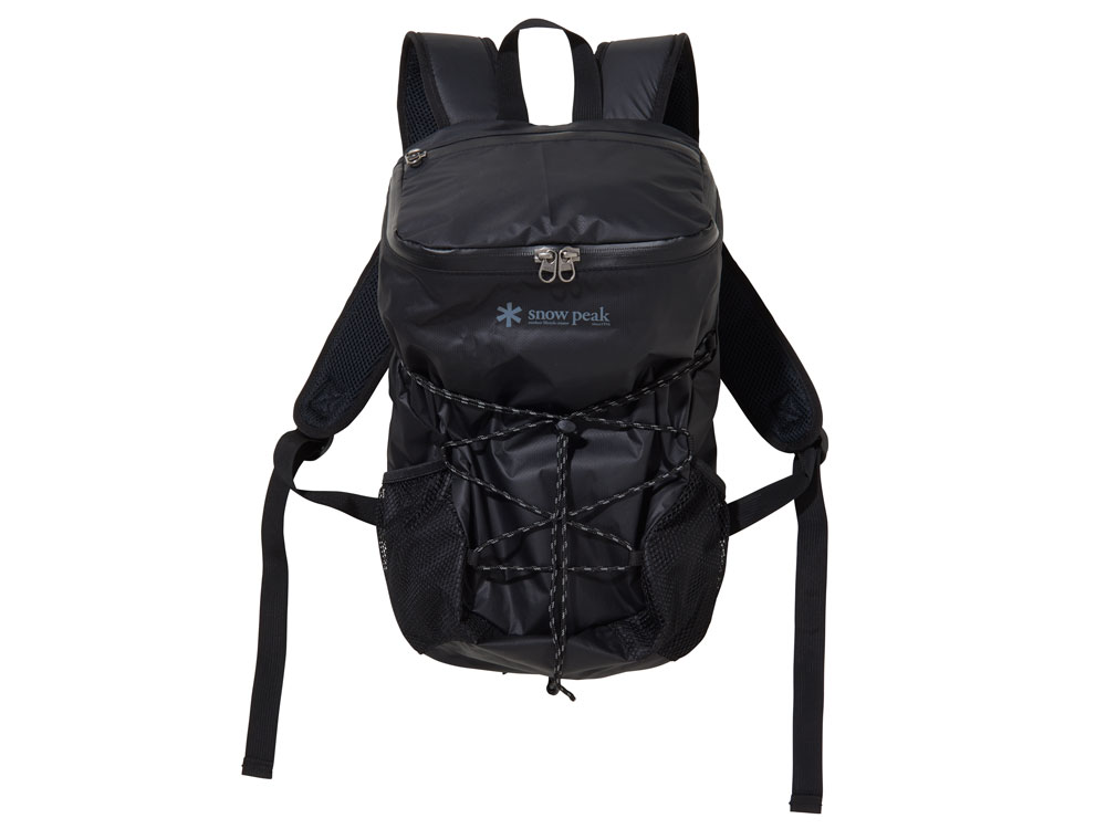 ★snow peak スノーピーク★Active Backpack Type03 アクティブ バックパック タイプ0315リットルバックパックBLACK