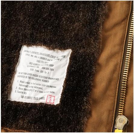 ★ UES Wes ★ deck jacket 901151 deck jacket camel