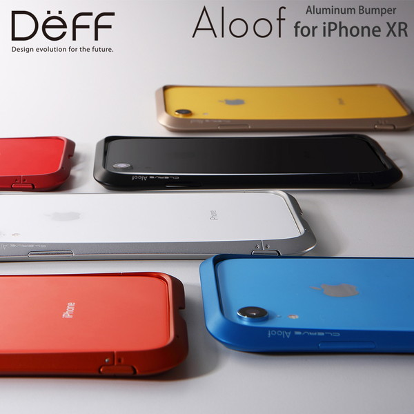 sports shoes 73594 0446b ☆◆ CLEAVE Aluminum Bumper Aloof (アルーフ) DCB-IPXRAL for Deff iPhone XR (6.1  inches)