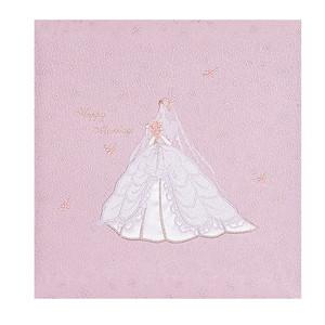 【送料無料】◆ ナカバヤシ フエルアルバム婚礼用 マイセレモニー P(ピンク) 名入れ刺繍込み Lサイズ ア-OLK-813/N