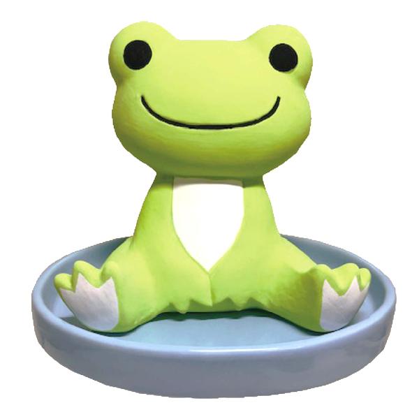 電気を使わないエコ加湿器 かえるのピクルス 素焼き加湿器 PK-001 pickles the frog カエル 蛙 ぴくるす インテリア 電源不要 おしゃれ 素焼き humidifier 冬 驚きの価格が実現 陶器 プレゼント 乾燥 あす楽対応 エコ 自然気化