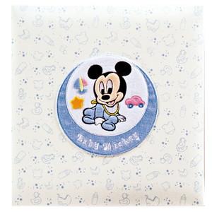 【送料無料】◆ ナカバヤシ フエルアルバムDigio 誕生用 ベビーミッキー&フレンズ ミッキー 名入れ刺繍込み Lサイズ ア-LB-617【Disneyzone】